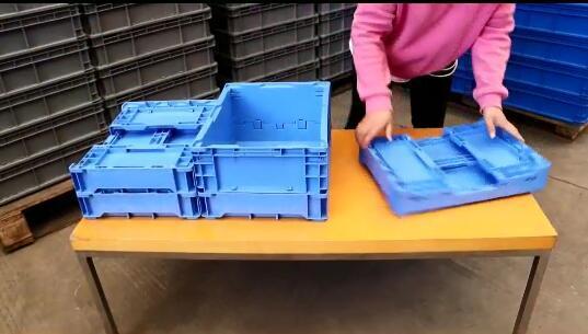 Qusheng Collaspible Crates Display