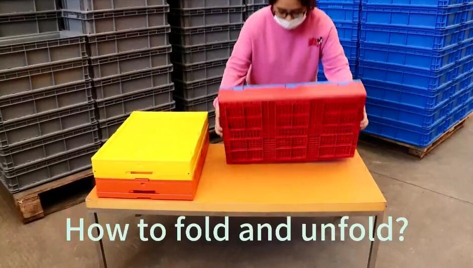 How to Fold and Unfold Cpllapsible Crates