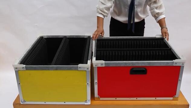 Compartmentalized Shelf Bin Product Display