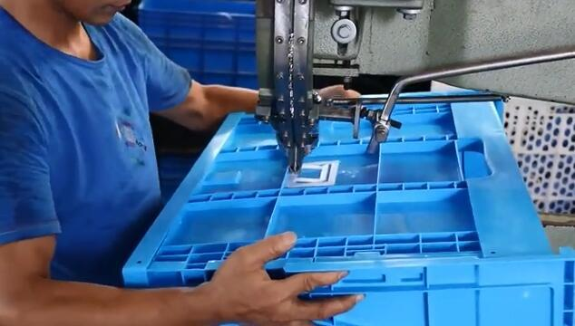 Super Large Plastic Folding Box