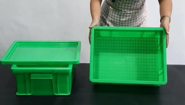 Turnover Box With Lid