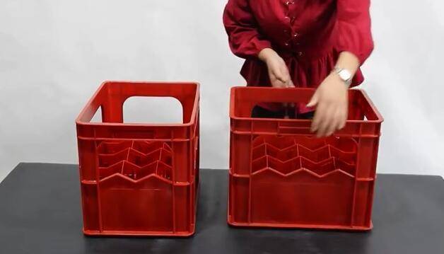 12 Trellis Beer Plastic Container