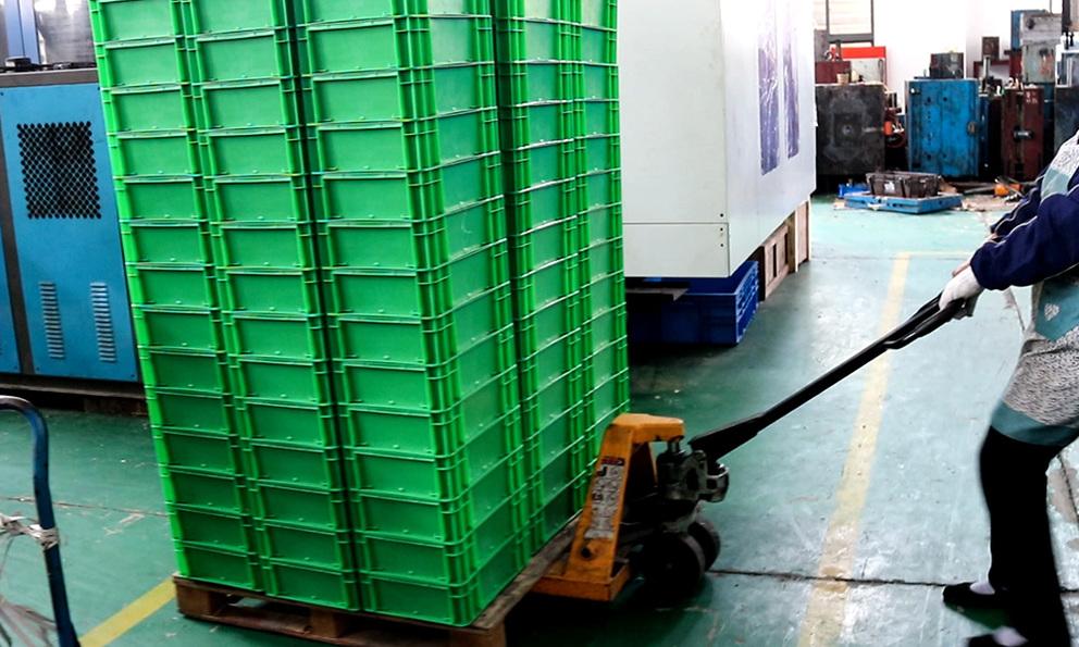 EU Crates for Shipment