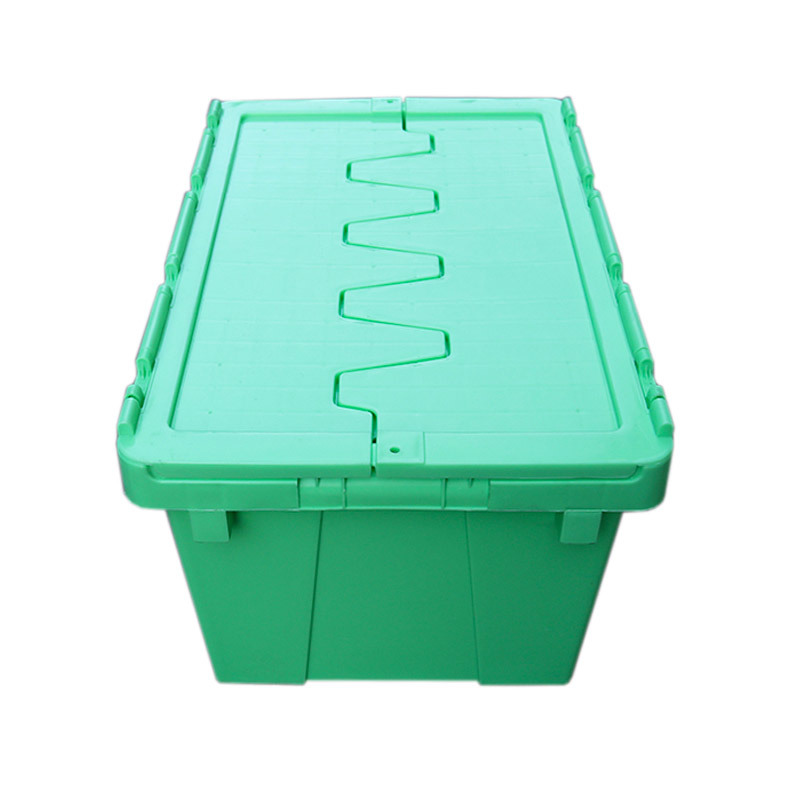 Plastic Logistic Storage Turnover Moving Crate 500