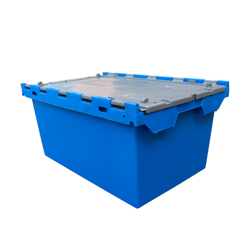 Plastic Logistic Storage Turnover Moving Crate 700