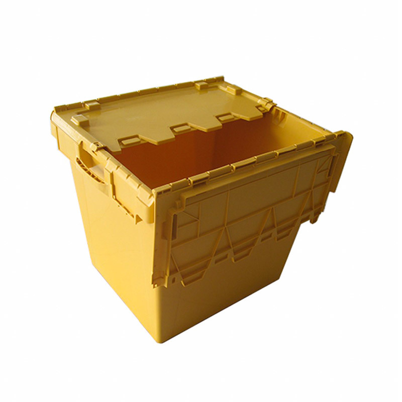 Plastic Logistic Storage Turnover Moving Crate 7457