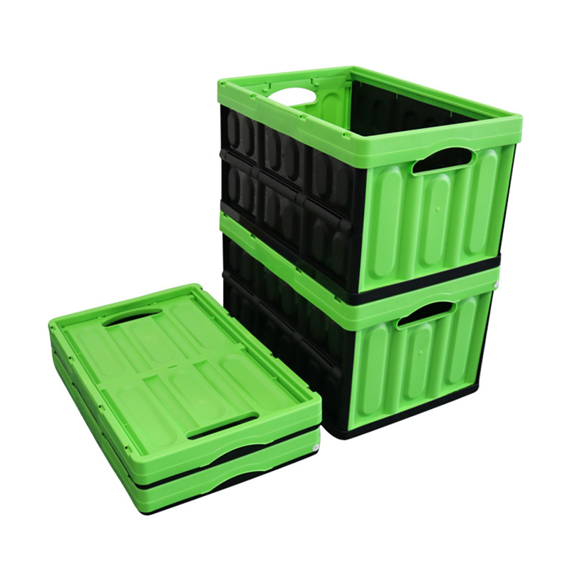 Household Plastic Collapsible Crate for Saving space