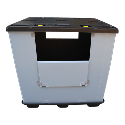 Heavy Duty  Large Capacity Solid Pallet Crate Container