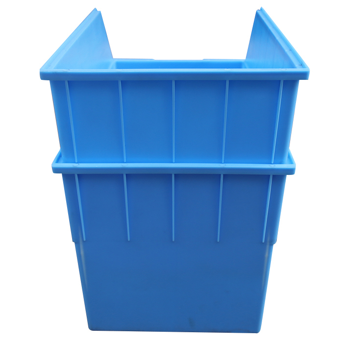 plastic storage  parts bin with divider 450