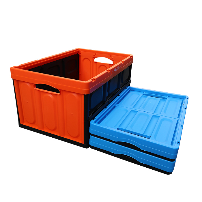 Plastic Portable Collapsible Storage Boxes and Bins