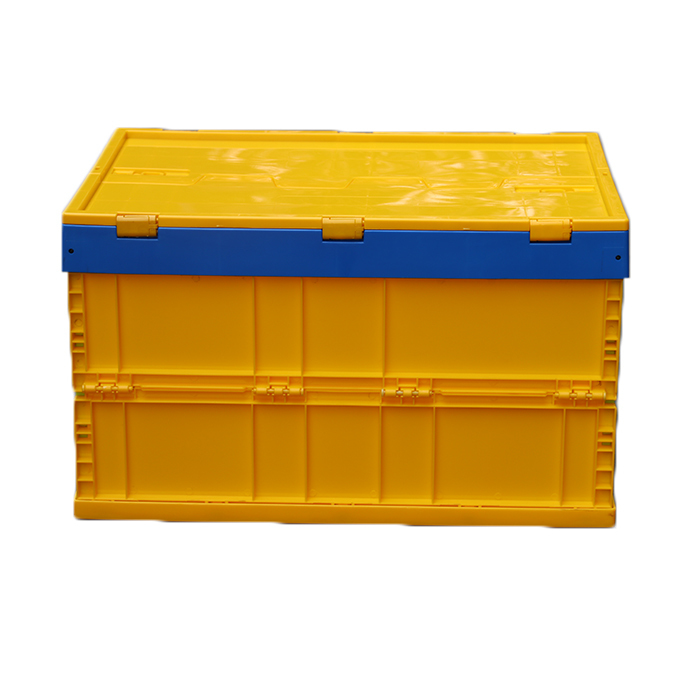 Plastic Foldable and Stackable Storage Boxes/Crates