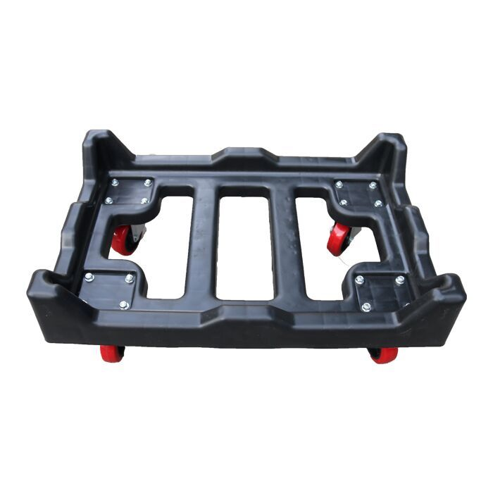 Customized High Quality Plastic Moving Dolly For Crate With Good Price