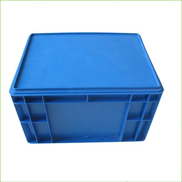 Plastic blue storage stackable crates EU4322