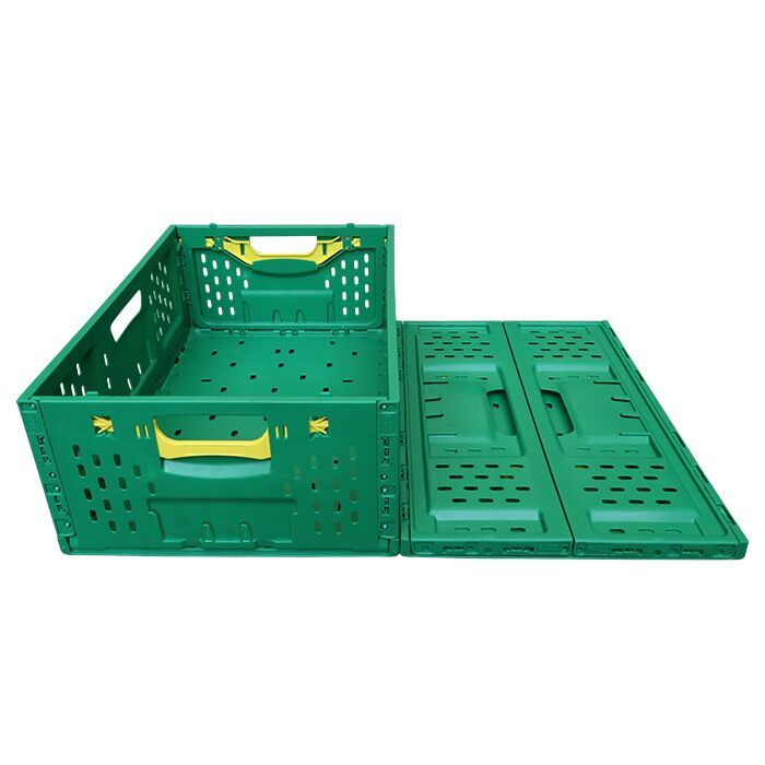 Plastic Collapsible Storage Crates Vegetables and Fruits Basket