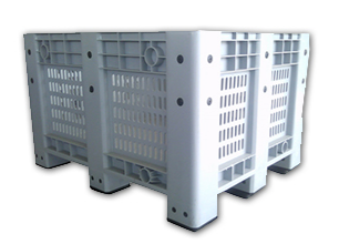 Wholesale Mesh Wall Pallet Crate,Perforated Crates