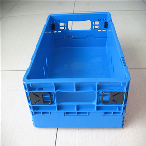 Plastic Storage Folding Small Box Industrial Use Collapsible Crate