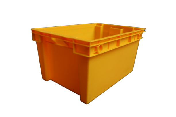 Colorful High Quality Plastic Nest&Stack Crate Manufacture From China