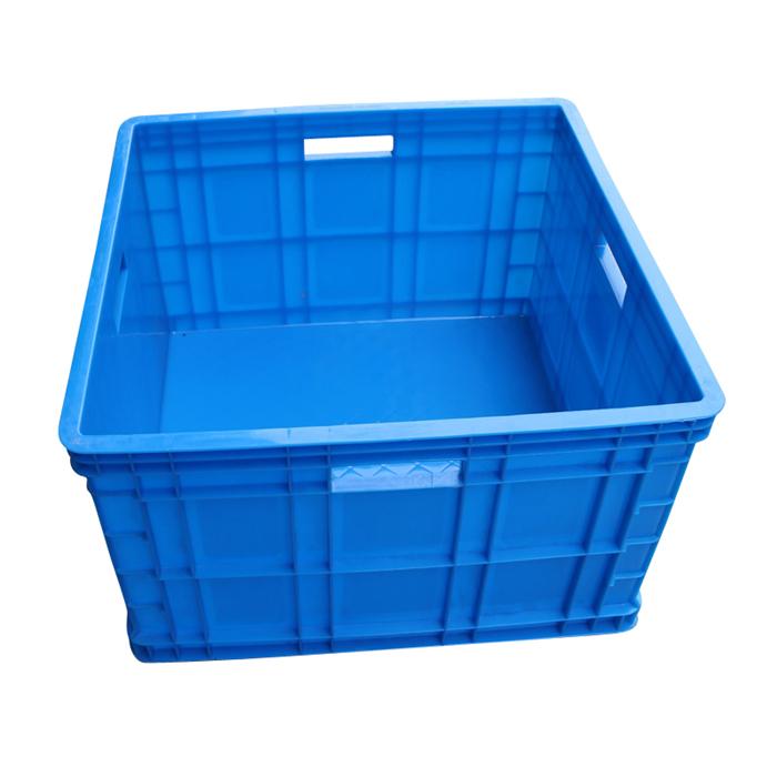plastic storage turnover box square box