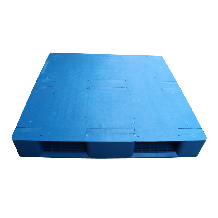 Flat Face Plastic Stackable Transport Packing Pallets For Warehouse