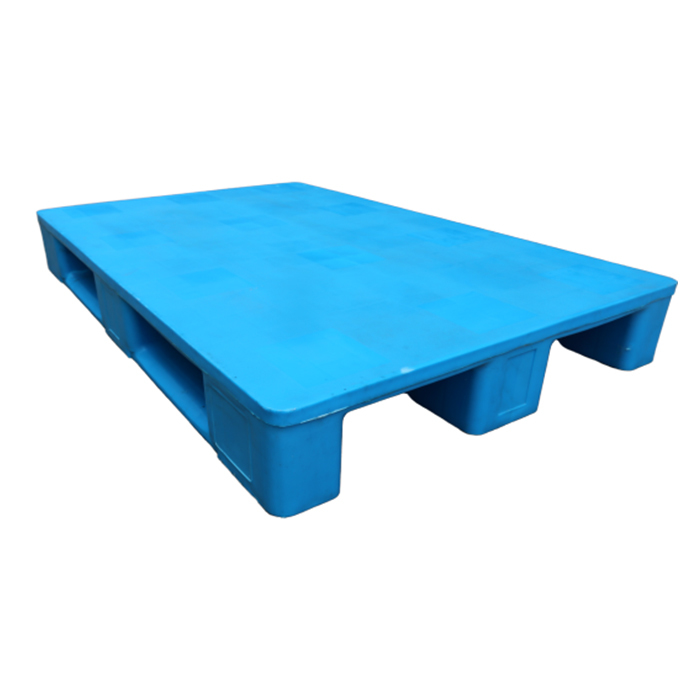 Flat Face Plastic Stackable Transport Packing Pallets For Warehouse Shelves