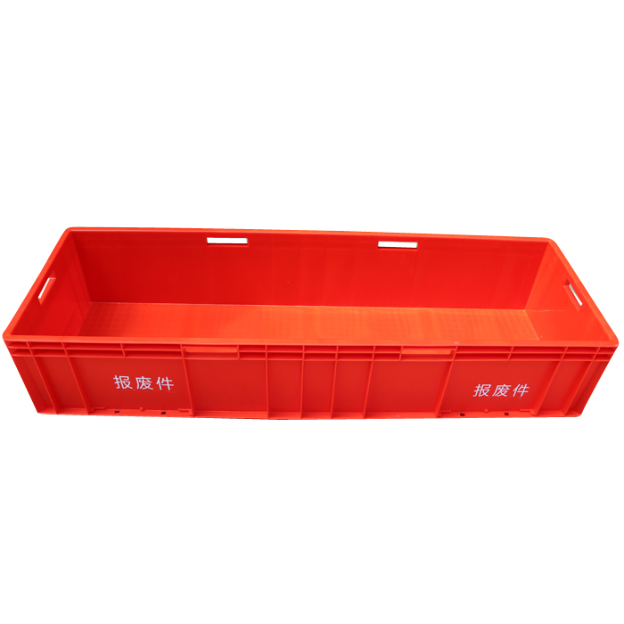 Heavy duty Plastic stackable turnover storage container EU41222