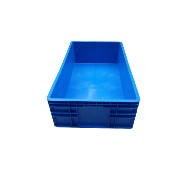 Heavy Duty Warehouse Storage Stackable Unfoldable Turnover Plastic Crate