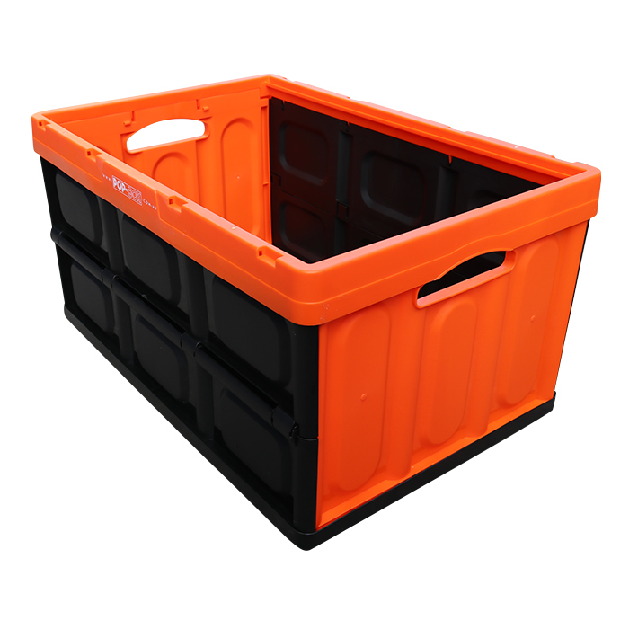 household plastic foldable crates
