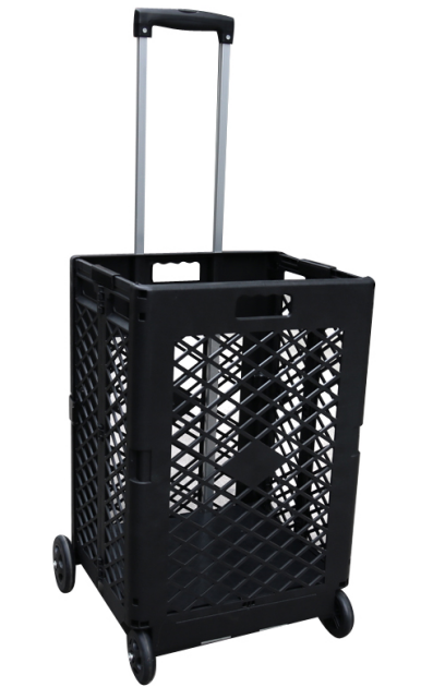plastic vented shopping carts